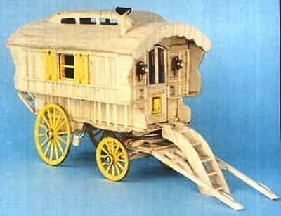 Ledge Caravan Matchstick Construction Model Kit Match-Craft- NEW • 21.75£