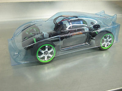 Kremer P Type Body For 1/16 Th Traxxas Rally Chassis • 18.28£
