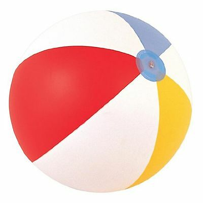 Inflatable Blowup Panel Beach Ball 16  20  24  Holiday Party Swimming Garden Toy • 1.82£