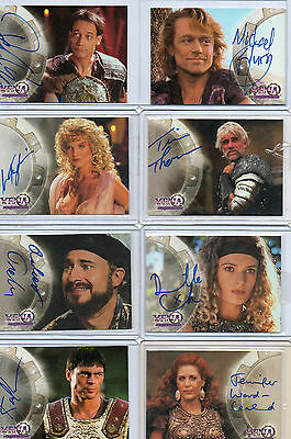 Xena Seasons Beauty & Brawn Quotable Autograph And Costume Card Selection NM  • 100£