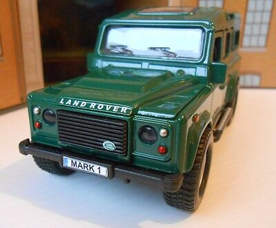 LANDROVER DEFENDER With PERSONALIZED PLATES Model Toy Car Boy Dad Birthday Gift! • 9.95£