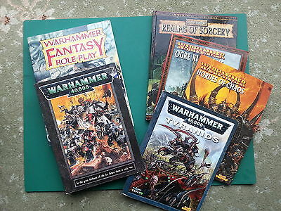 Warhammer 40K, Fantasy Battle, And Roleplay Books And Supplements Multilisting • 19.99£