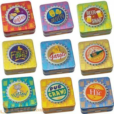 Cheatwell Drinking Game Tins After Dinner Adult Fun Party Games • 4.99£
