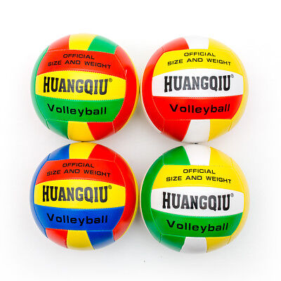 Beach Volleyball Official Size Weight Synthetic Leather Volleyball • 7.99£