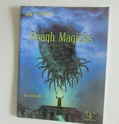 Rough Magicks Call Of Cthulhu CoC Horror Roleplaying Book • 39.99£