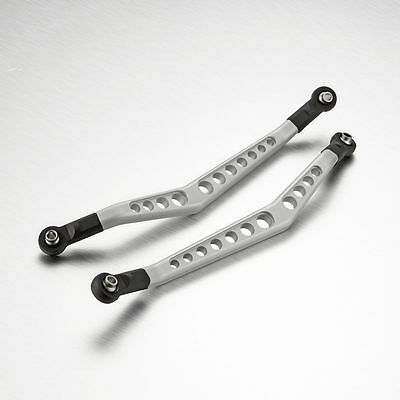 A Pair CNC Aluminum Upper Linkage Rod Set For Axial Wraith Rock Racer #1495 • 25.99£