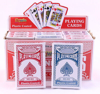 PLAYING CARDS - Poker Gaming Snap Etc Deck Kings Queens Ace - Pack Of 1, 2 Or 12 • 10.99£