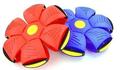 UFO Frisbee Flat Silicone Throw Disc Deformed Catch Ball UK SELLER • 9.99£