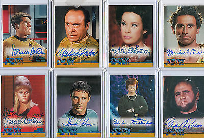 Star Trek TOS The Original Series Autograph Card Selection NM Skybox Rittenhouse • 45£
