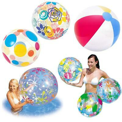 New Inflatable Beach Ball 16  20  24  48  Swim Pool Beach Party Holiday Garden • 2.25£