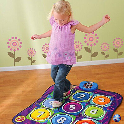 New Kids Electronic Music Dancing Playmat Dance Touch Sensitive Musical Play Toy • 14.99£