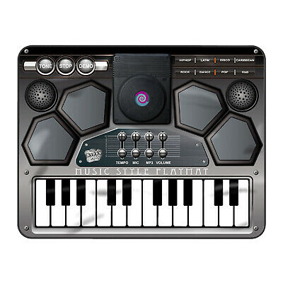 Kids Electronic Music Dj Style Playmat Musical Style Touch Tune Sound Play Mat • 19.49£