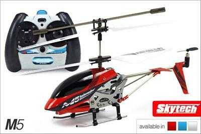 Skytech M5 RC Helicopter Gyro Remote Control Aircraft Electric Micro 2 Channel • 24.99£