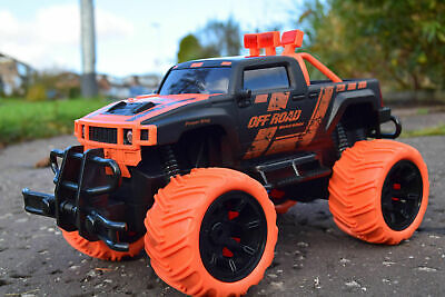 Rechargeable American Monster Truck Rc Radio Remote Control Car Off Road • 17.99£