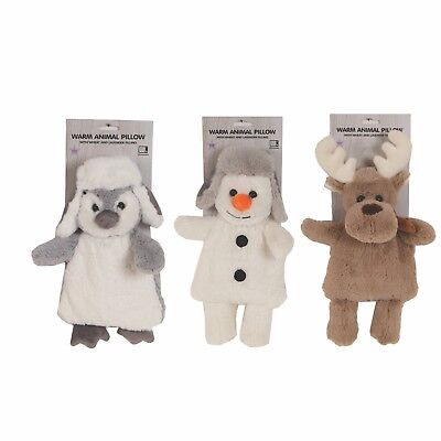 Reindeer/ Snowman / Penguin  Microwave Hot Or Cold Wheat Cuddly Pillow / Toy • 6.99£