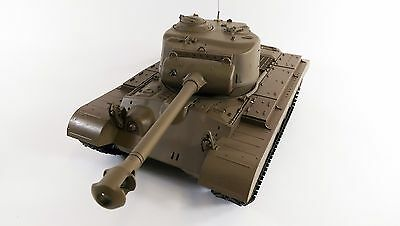 NEW Heng Long 1:16 M26 Pershing Snow Leopard BB RC Tanks Upgraded 2.4GHz Version • 156.99£