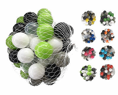 250-10000 Ball Pit Balls 55mm Mixed Colourful Colours Baby Child Game Ball Bath • 16.34£
