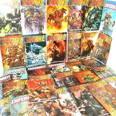 Warhammer Black Library Inferno! Magazine     (Games Workshop 1997 To 2004) • 9.99£