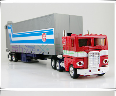 TRANSFORMERS AUTOBOT Optimus Prime Tractor To Robot G1 Reissue Free Shipping • 30.91£