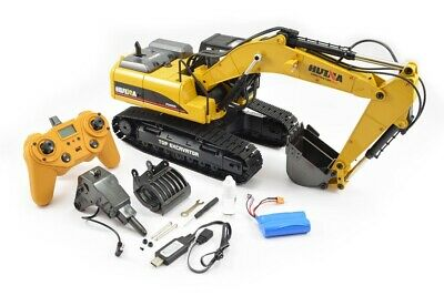 Large 1/14th Scale 23 Channel RC Die-Cast Metal Excavator - Smoke, Sound & Light • 449.99£