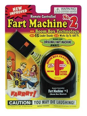 Remote Control Fart Machine Prank Joke Sound Effect • 17.99£