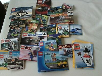 A Bundle Of Small Lego Instruction Books Only - No Lego • 7£