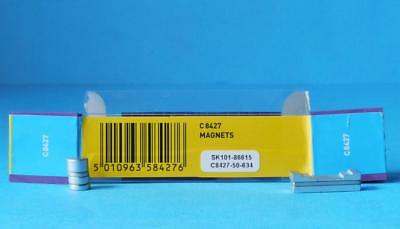 7 X SCALEXTRIC MAGNETS C8427 For SCALEXTRIC CARS MAGNATRACTION • 5.39£