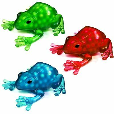 Set Of 3 Squeezy Frog Toys Filled With Slime - Tactile Sensory Stress Toys • 9.99£