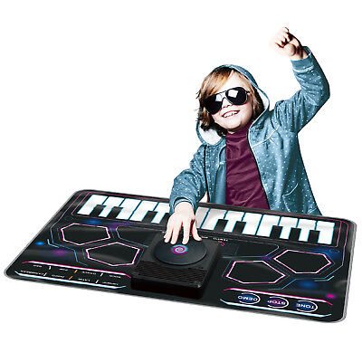 Kids Electronic Dj Style Music Play Mat Musical Touch Tune Sound Art Fun Playmat • 17.99£