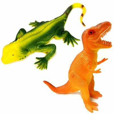 Stretchy Lizard And Stretchy Dinosaur Sensory Toy Set - ADHD - Gift  • 4.99£