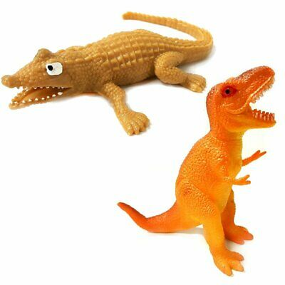 Stretchy Crocodile & Stretchy Dinosaur Sensory Toy Set - ADHD - Gift  • 4.99£