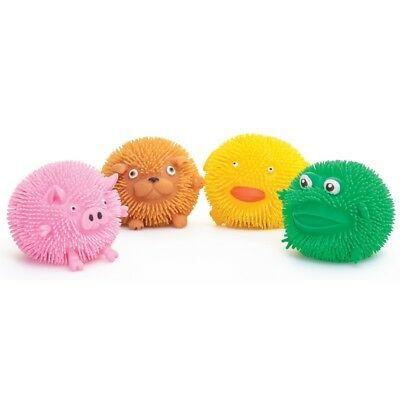 A Set Of 4 Puffimal Squeezy Animal Toys - Sensory Toys - ADHD - Gift - Birthday  • 15.99£