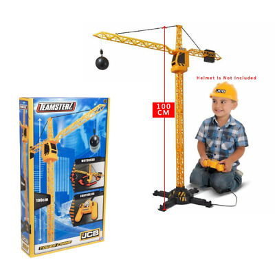 Kids Construction Crane Building Objects Builder Work Tower Vehicle Toy • 16.50£