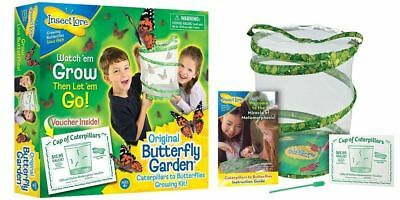 Butterfly Garden By Insect Lore Grow Your Own Butterflies Includes Voucher • 14.95£