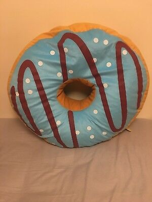 Large Doughnut Teddy Cushion - Brand New With Tags • 20£