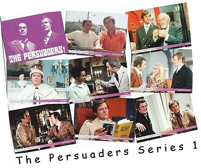 The Persuaders Series 1 (One) - 36 Card Basic/Base Set - Unstoppable 2018 • 8£