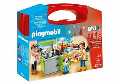 Playmobil 9543 Family Fun Kitchen Carry Case • 11.95£