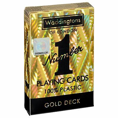 Waddingtons No 1 Gold Playing Cards • 4.99£