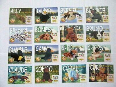 Ty Beanie Babies Collectors Trading Cards - Series 1  1998 • 19.99£