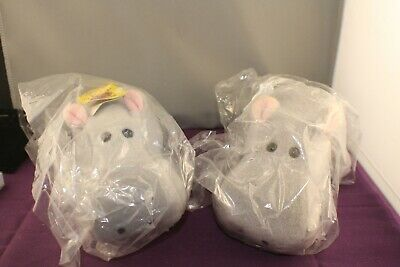 2 X Beanie Kids Loveable Collectables Howard The Hippo • 32.98£