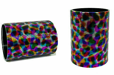 Rainbow Large Slinky Stretch Magic Walking Spring Stretch Upto 7m Pack Of 2 Net • 29.99£