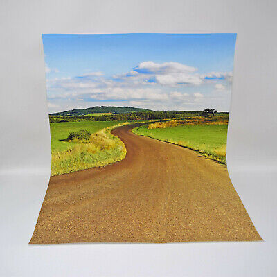 Model Car Backdrop Background Sheet 1:18 Scale Diorama - A2 Size • 14.99£