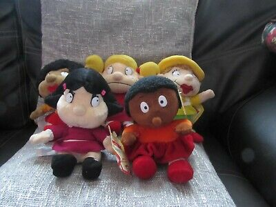 5 Collectable Soft Plush Little Monsters Toys/beanies By Born To Play • 25£