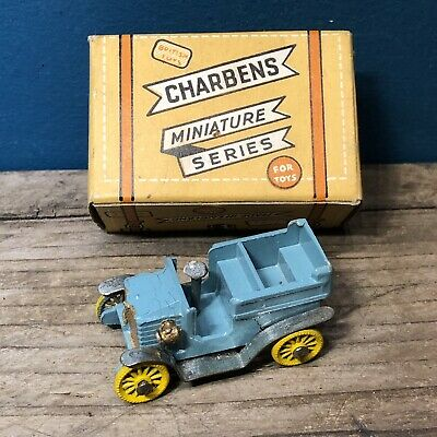 CHARBENS DIECAST MINIATURE SERIES BOXED OLD TIMERS CROCKS #10 WOLSELEY 1902 #stf • 9£