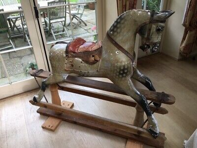 Antique Large Ayres Rocking Horse • 1,450£