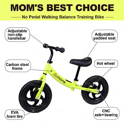Kids Balance Bike Riding Walk Training For Toddlers 2-6 Years Old Toy Child Gift • 24.99£