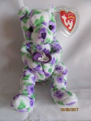 Ty Beanie Baby Corsage Bear - Mint - Retired • 9.99£