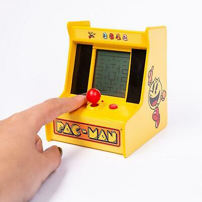 Pac-Man Desktop Mini Arcade Machine Retro 80s 8 Bit Pacman Game Console Gift • 14.99£