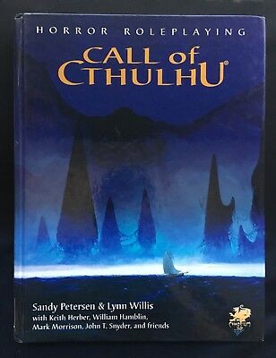 Call Of Cthulhu - Horror Roleplaying - Edition 5.6 - Chaosium - 2386 • 32.99£