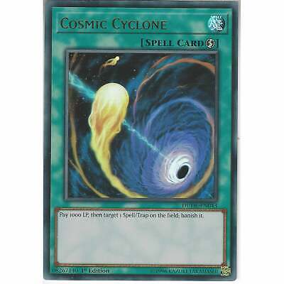 DUDE-EN043 Cosmic Cyclone | 1st Edition | Ultra Rare | YuGiOh Trading Card Game • 1.95£